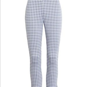 Plaid pointe pant